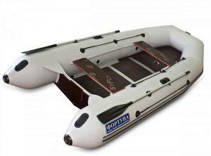 Лодка ПВХ Фортуна 3500 серия N под мотор надувная двухместная
