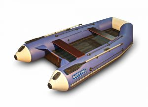 Лодка ПВХ Фортуна 3500 НД серия N под мотор надувная двухместная