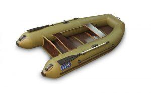 Лодка ПВХ Камыш 3000 серия F под мотор надувная двухместная